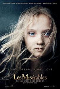 Poster original de Los miserables