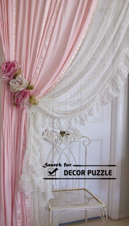 25 elegant french country curtains designs for door and window tulle french door curtains for modern interior design planetlyrics Gallery
