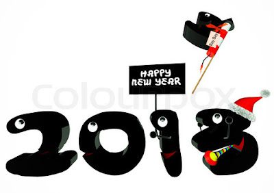 Beautiful Happy New Year 2013 Photo Cards
