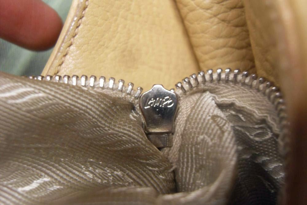 prada zipper handle bag