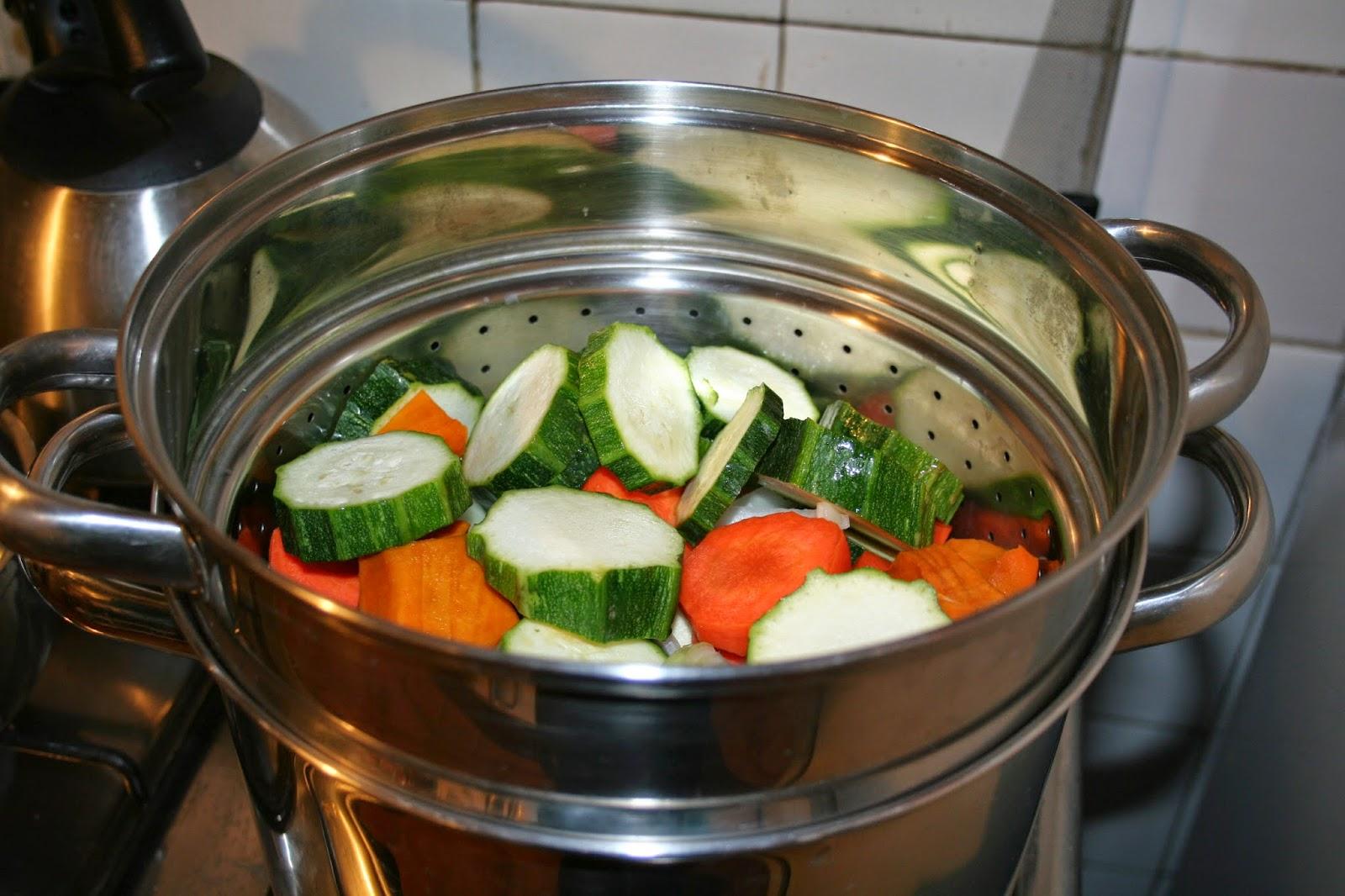 Mam terapeuta dato pr ctico cocinando al vapor for Cocinar zanahorias al vapor