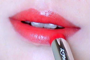 Jill Stuart lip blossom 08 Pretty Poppy