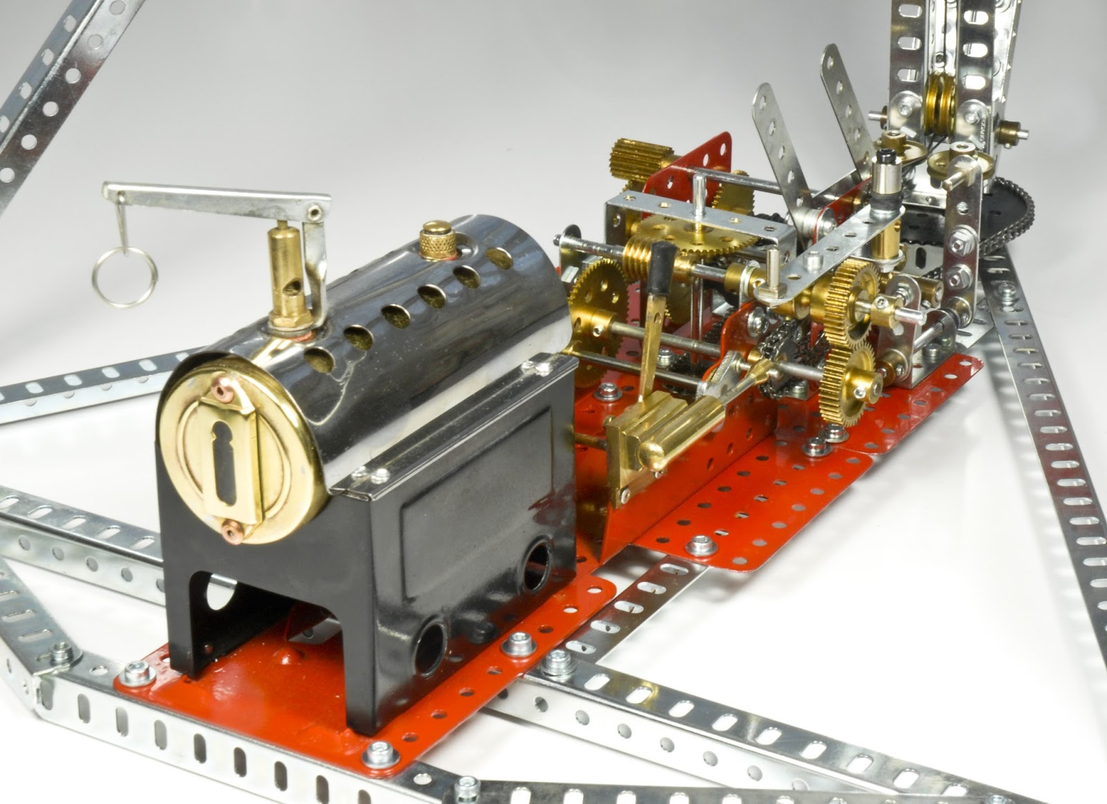 Ralph And Sue 39 S Meccano News Running Steam Engines On Air