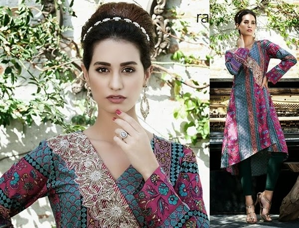 Rabea Kurti Collection 2014 for Winters