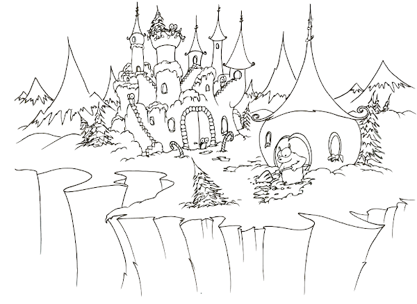 Color Castle Coloring Pages