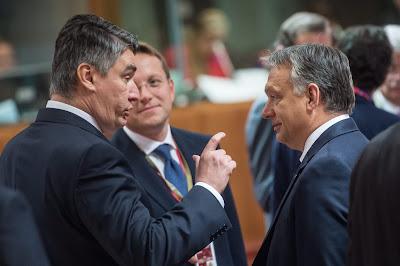 Zoran Milanovic, Horvátország, Magyarország, migráció, EU-csúcs, bevándorlás, magyar-horvát határ,