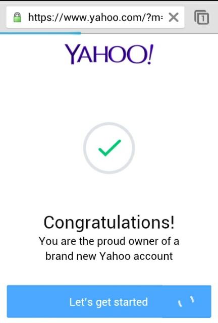 yahoomail verification methods