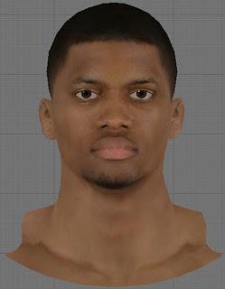 NBA 2K13 Rudy Gay Cyberface Patch