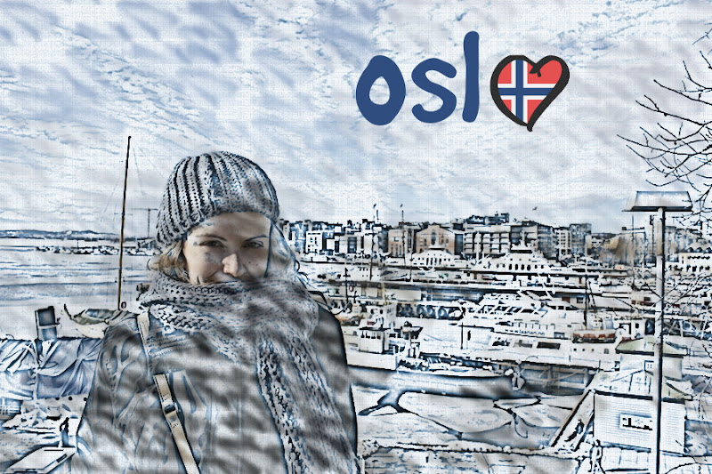 Composición dibujo cómic Oslo