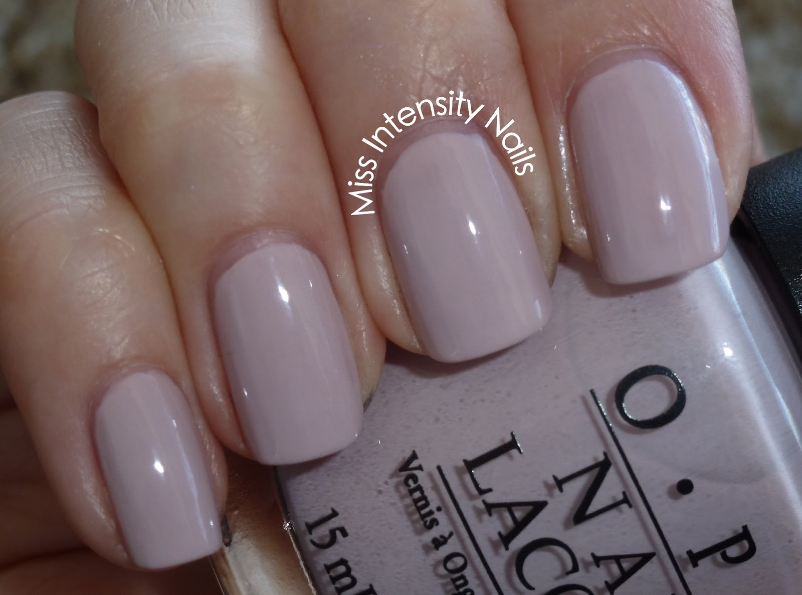 Miss Intensity Nails: Swatch - OPI Steady As She Rose