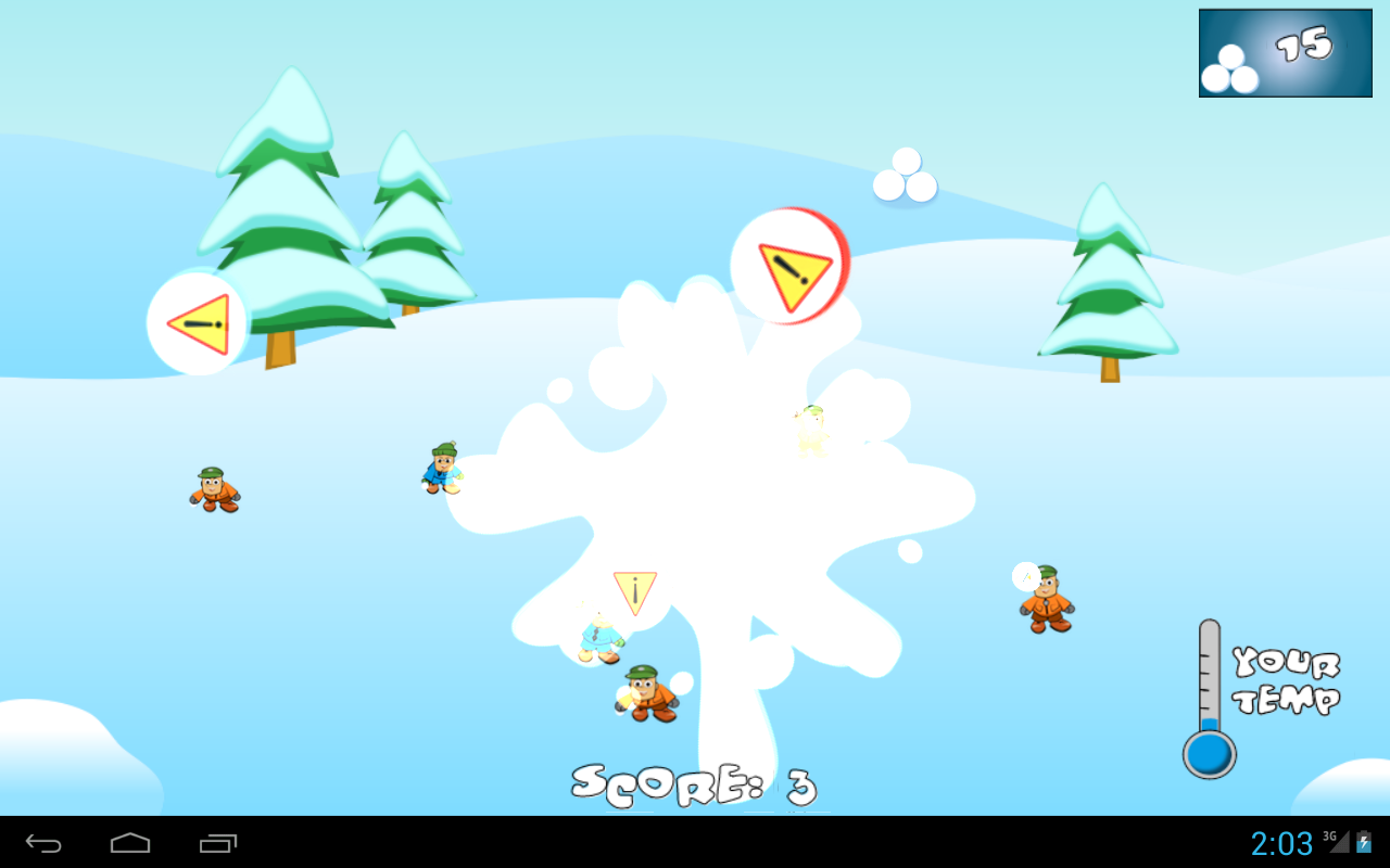 Animated Snowball Fight - More information