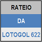 LOTOGOL 622 - RATEIO - MINI
