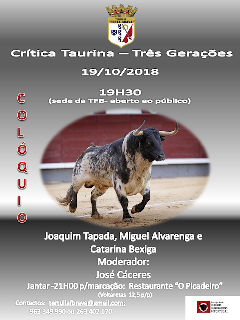 AZAMBUJA (PORTUGAL) 19-10-2018. COLÓQUIO AS 19H30