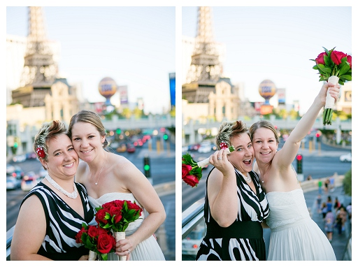 vegas strip wedding