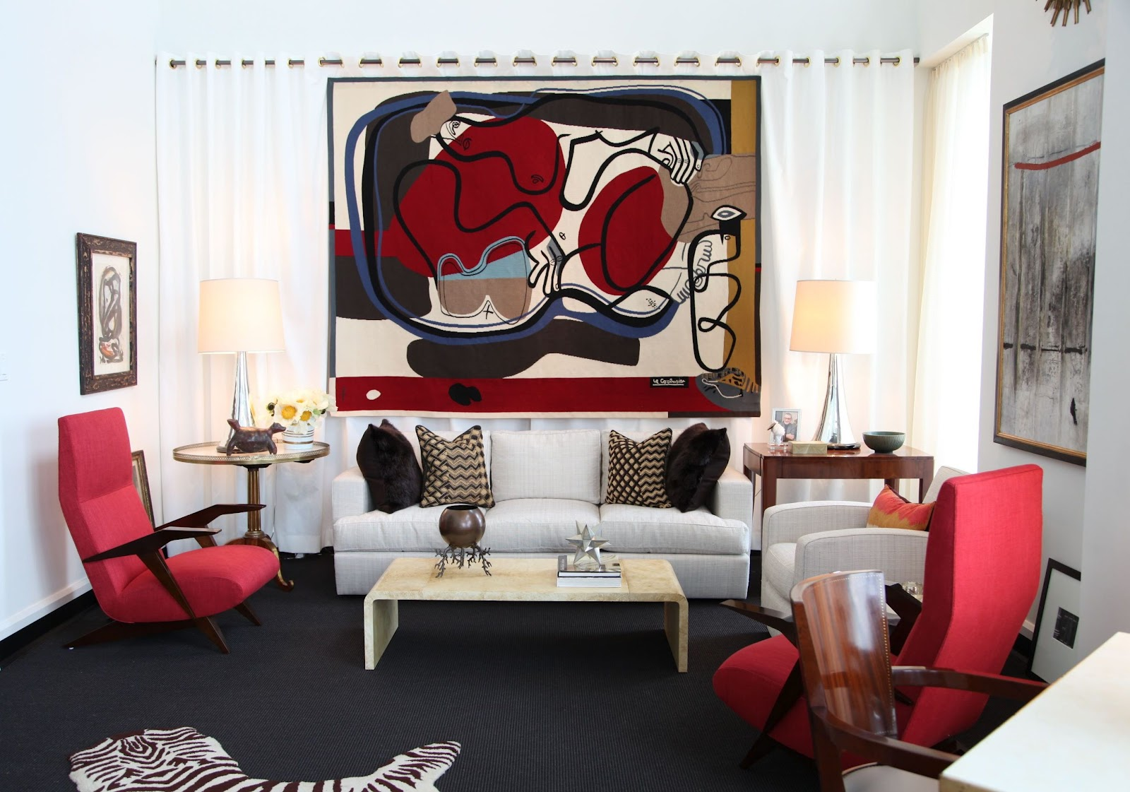 red black white living room ideas personalised home design