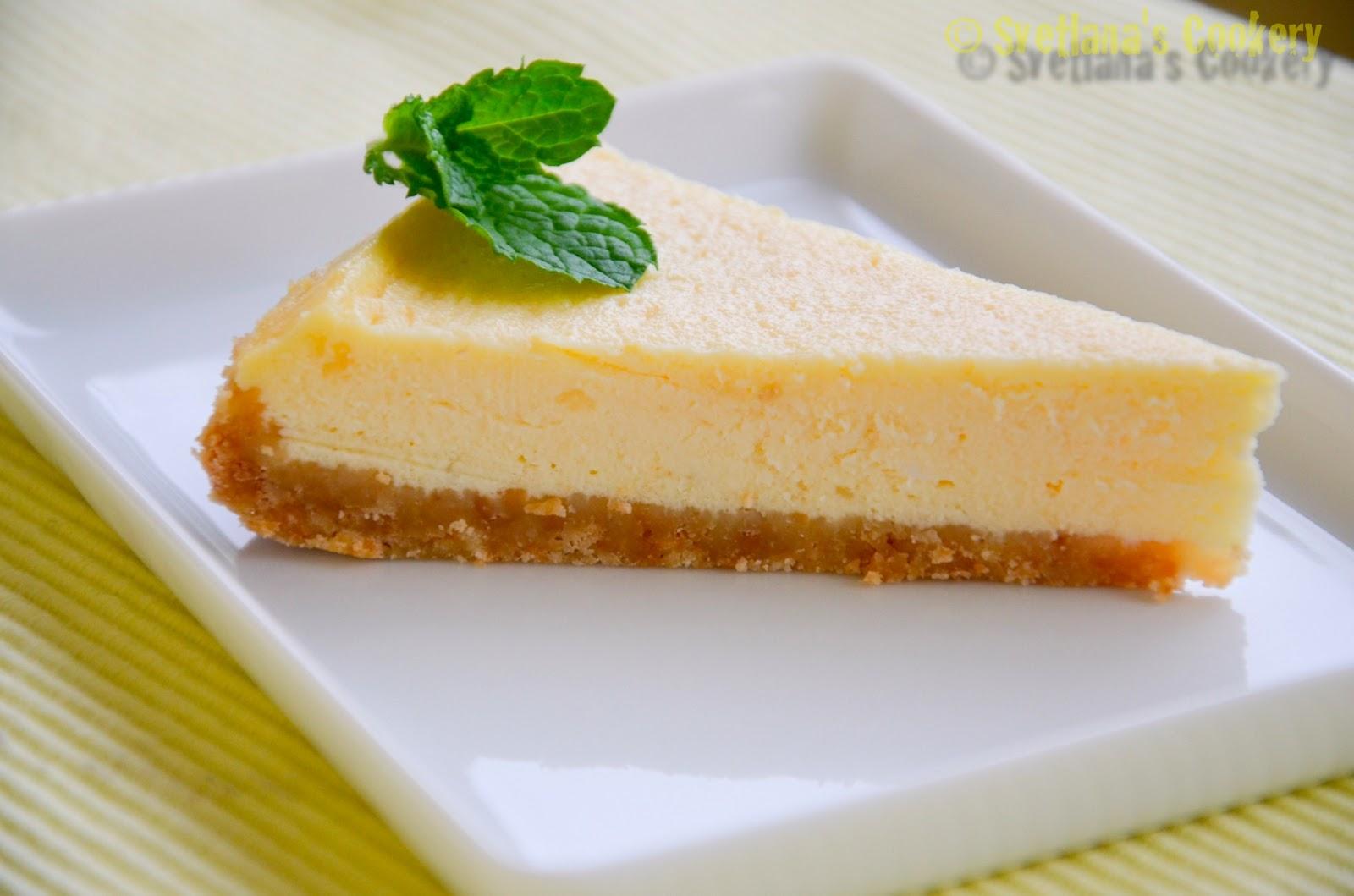 Чизкейк из сыра рецепт с пошагово