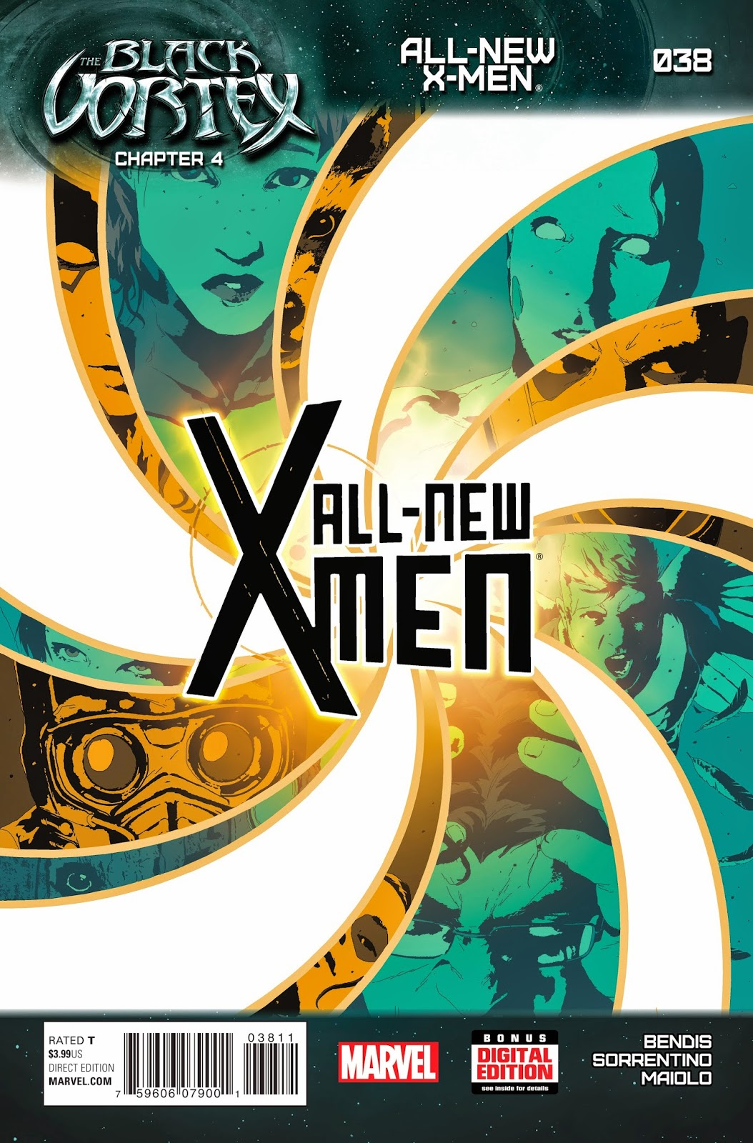 All-New X-Men in The Black Vortex