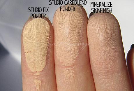 Mac Mineralize Skinfinish Natural Vs Studio Fix Powder