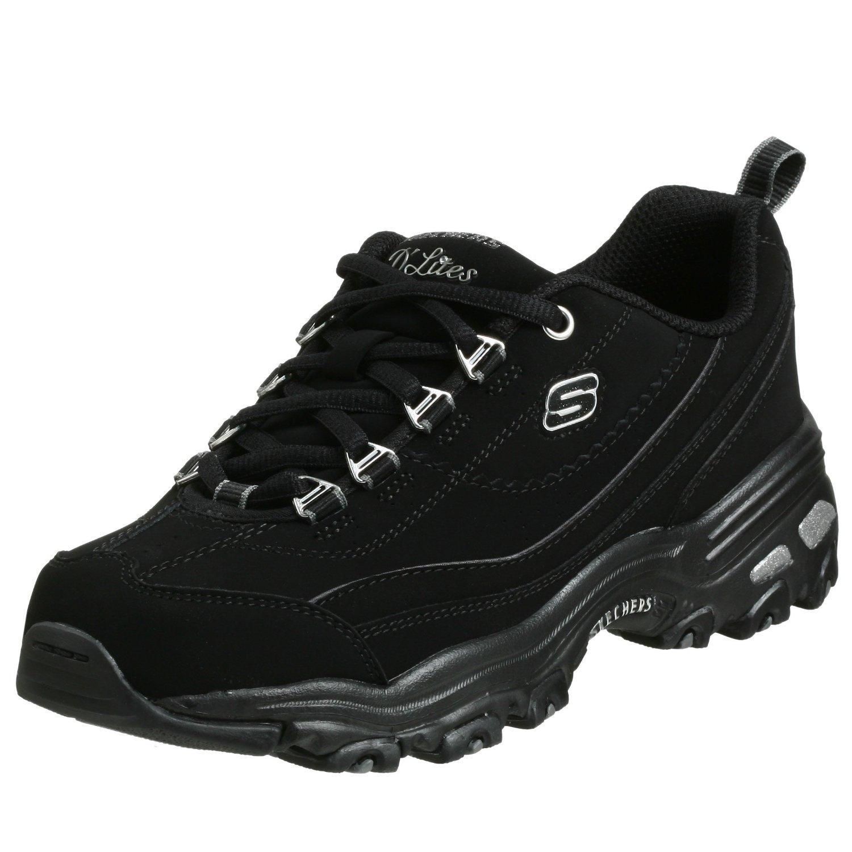 skechers s d lites raptures sneaker black sneakers