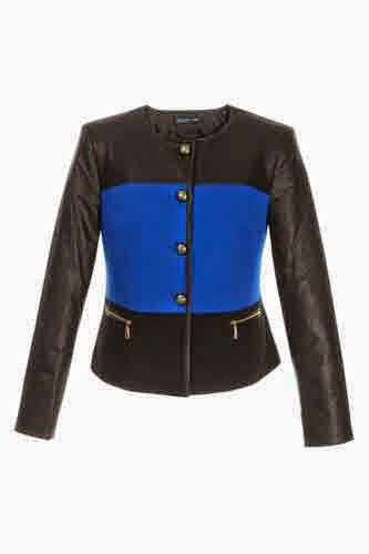 Chaqueta Black and Cobalt