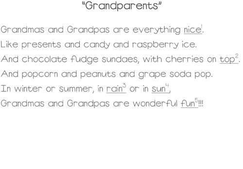 Top Grandparents Day Pictures And Poems
