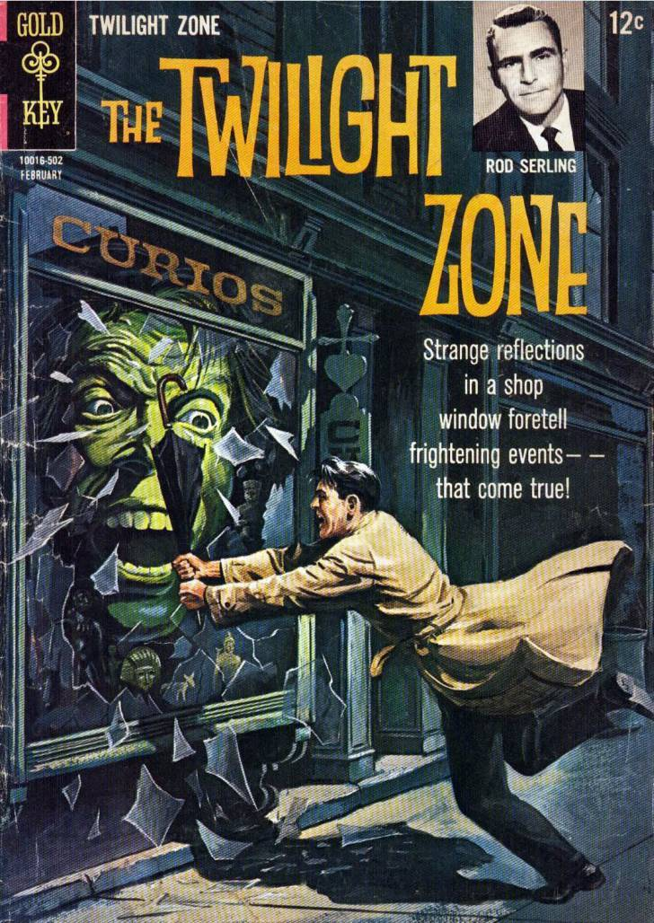 The twilight zone comic