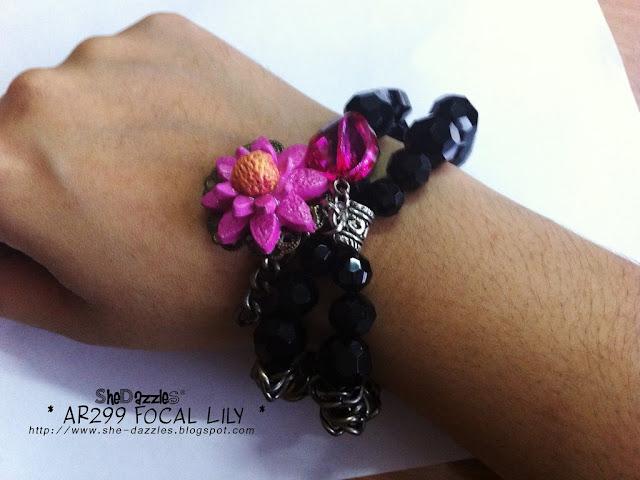 charm-bracelet-pink-clay-ar299