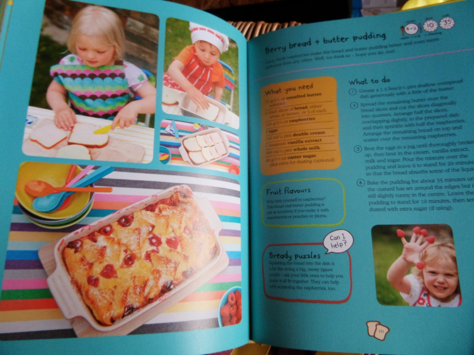 Madhouse Family Reviews: Ella\'s Kitchen Big Baking Book review