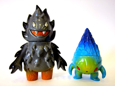 Charcoal Flame Honoo by Leecifer & Super7 Skulletor Milton