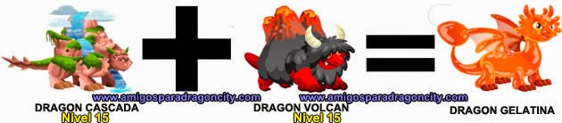 como hacer el dragon gelatina de dragon city formula 3