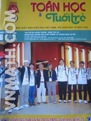 Xem Tạp chí Toán học và Tuổi trẻ số 410 tháng 8 - 2011