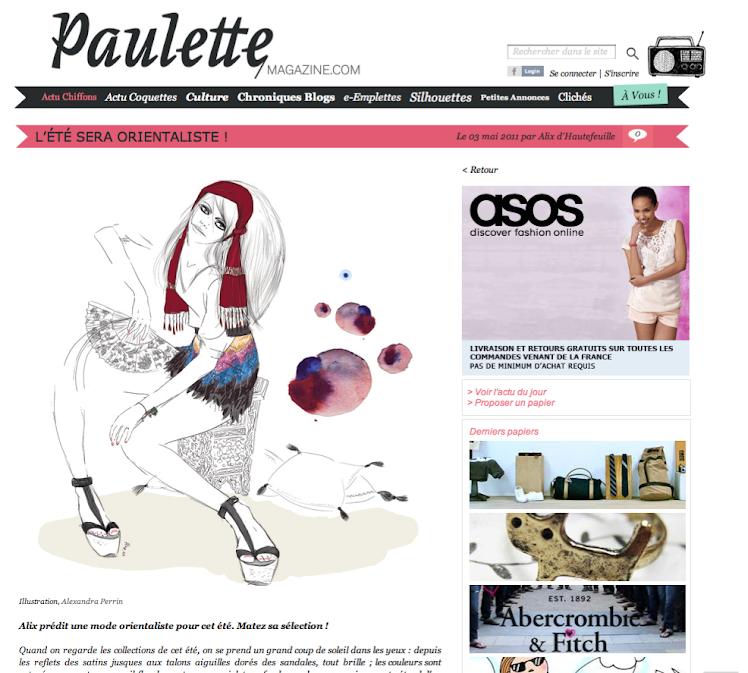 Parution PAULETTE Mag