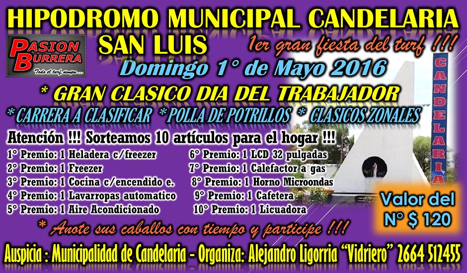 CANDELARIA , SAN LUIS - 1 DE MAYO