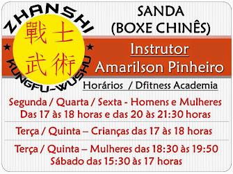 Sanda (Boxe Chinês) - Amarilson Pinheiro