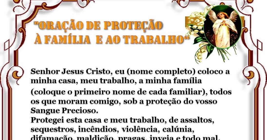 Super Oração de Proteção Á Família e ao Trabalho | De Mãos Dadas Com  DR15