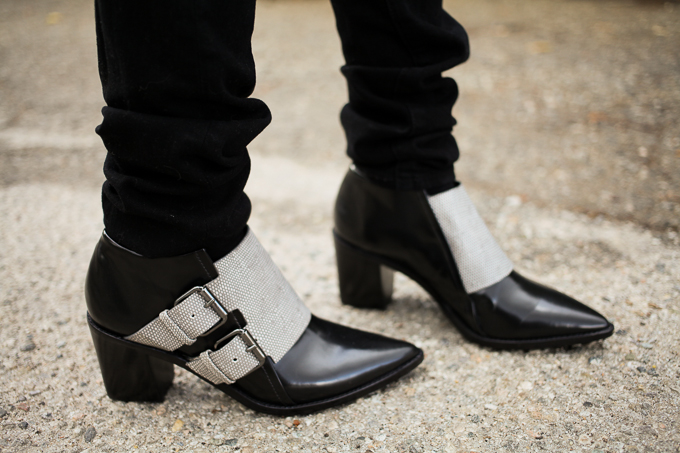 Jenni Kayne, Tibi Billie boots, Chanel Boy Bag, Genetic Denim The Shane