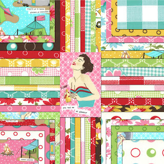 Moda GLAMPING Quilt Fabric by Mary Jane