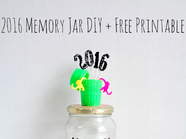 2016 Memory Jar DIY + Free Printable