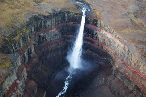 Hengifoss falls - Iceland