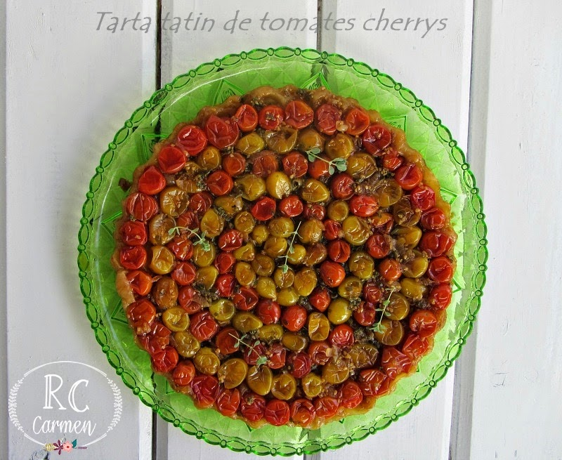 Tarta Tatín De Tomates Cherrys