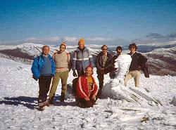 Nieve en el Pico del Lobo