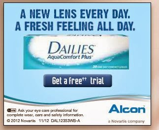 Free Pair of Contacts - Print Voucher - Use Anywhere , Like Walmart Optical too !