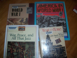 Selected reading about WWI