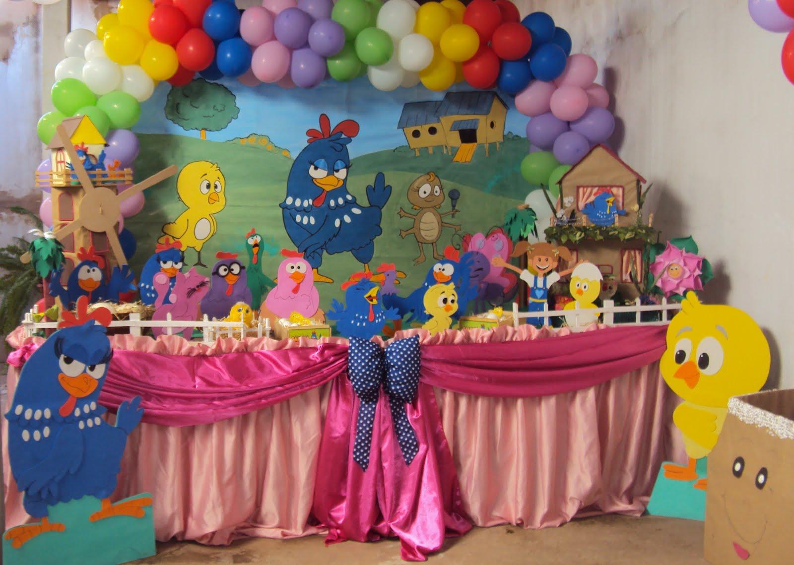decoracao festa galinha pintadinha rosa: :Oreade 174 Moreninha III Tel:(67)3393-2873: Galinha Pintadinha Rosa
