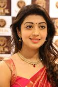 Pranitha glamorous photos at VRK Silks-thumbnail-19