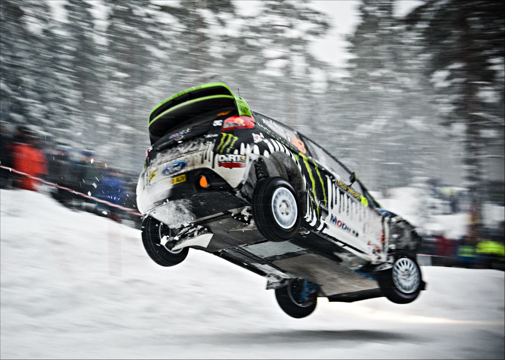Rally World News: KEN BLOCK SURVIVES HIS FIRST-EVER VISIT TO WRC ...