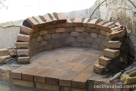 Peque as construcciones que mejoran la vida como hacer un - Horno de piedra casero ...