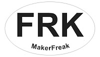 Letters FRK and below that the words Maker Freak