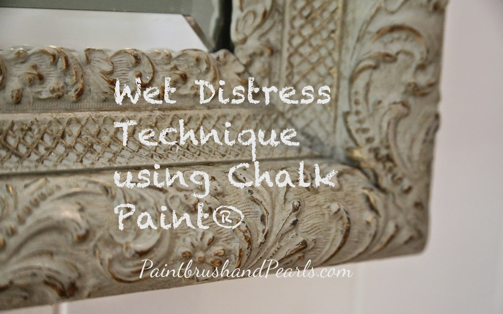 Brocante Home Collection s Paintbrush and Pearls Wet