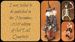 Tickled to be Published!<br>Art Doll Quarterly